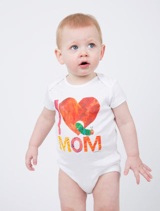 World of Eric Carle I Love Mom with The Very Hungry Caterpillar Baby Bodysuit