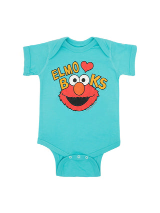 Baby Elmo Loves Books bodysuit