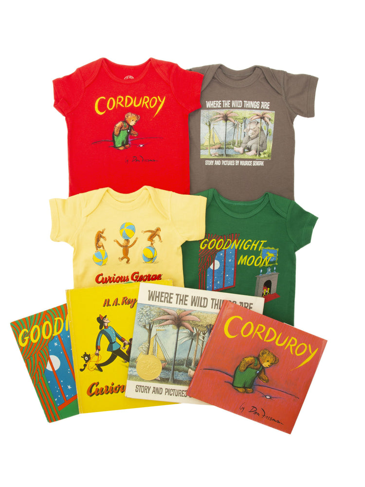 Bundle - Classics onesie/kids' tee and books