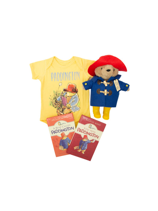 Bundle - Paddington onesie/kids' tee and books