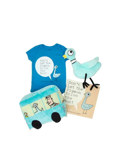 Bundle - The Pigeon onesie/kids' tee and books