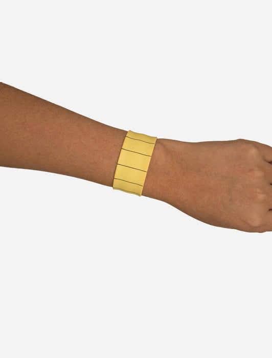 Library Card Slap Bracelet
