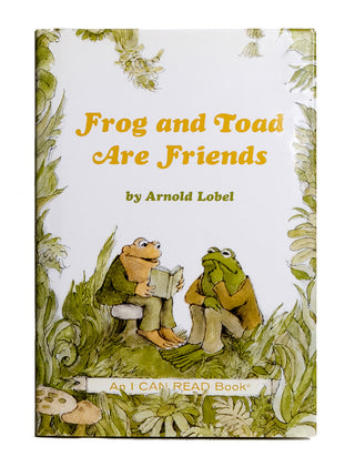 Frog and Toad are Friends hardcover book