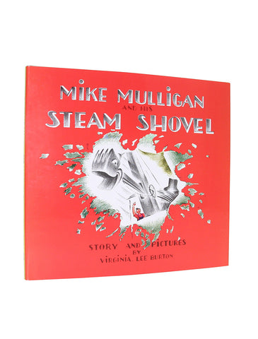 Mike Mulligan and His Steam Shovel hardcover book