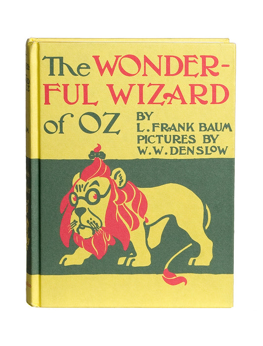 The Wonderful Wizard of Oz hardcover book