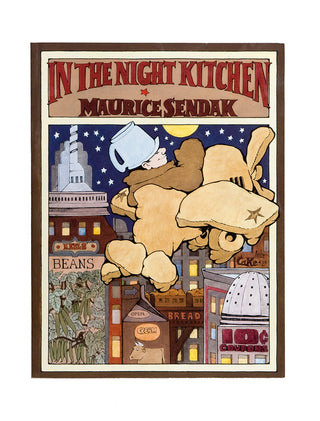 In the Night Kitchen board book