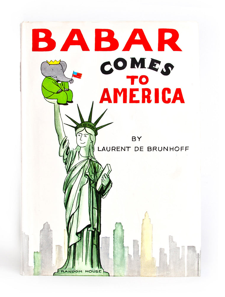 Babar Comes to America board book
