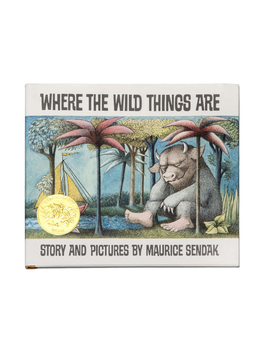 Where the Wild Things Are hardcover book