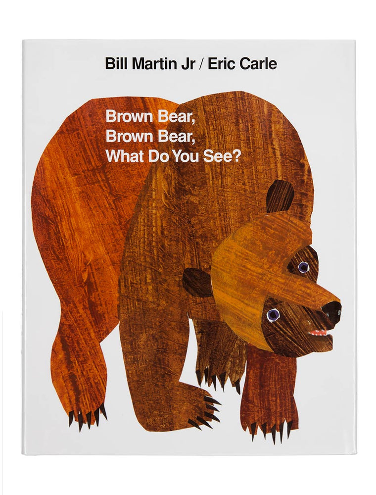 World of Eric Carle Brown Bear, Brown Bear, What Do You See? hardcover book