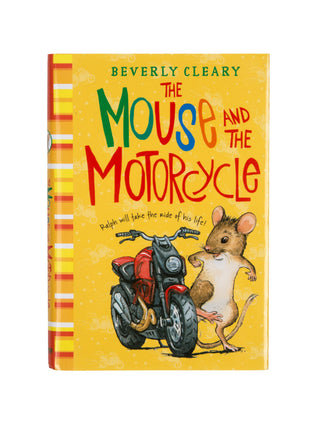 The Mouse and the Motorcycle hardcover book