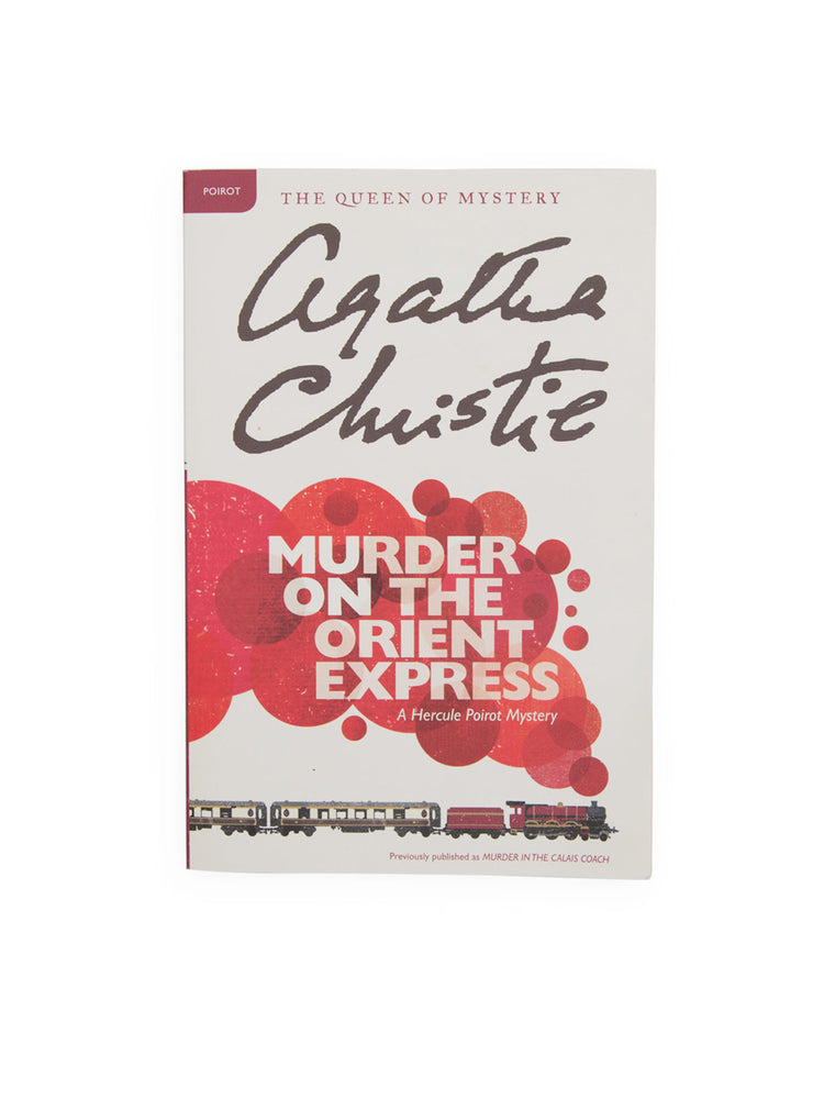 Murder on the Orient Express paperback book