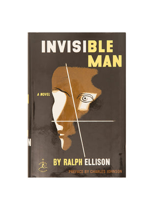 Invisible Man hardcover book