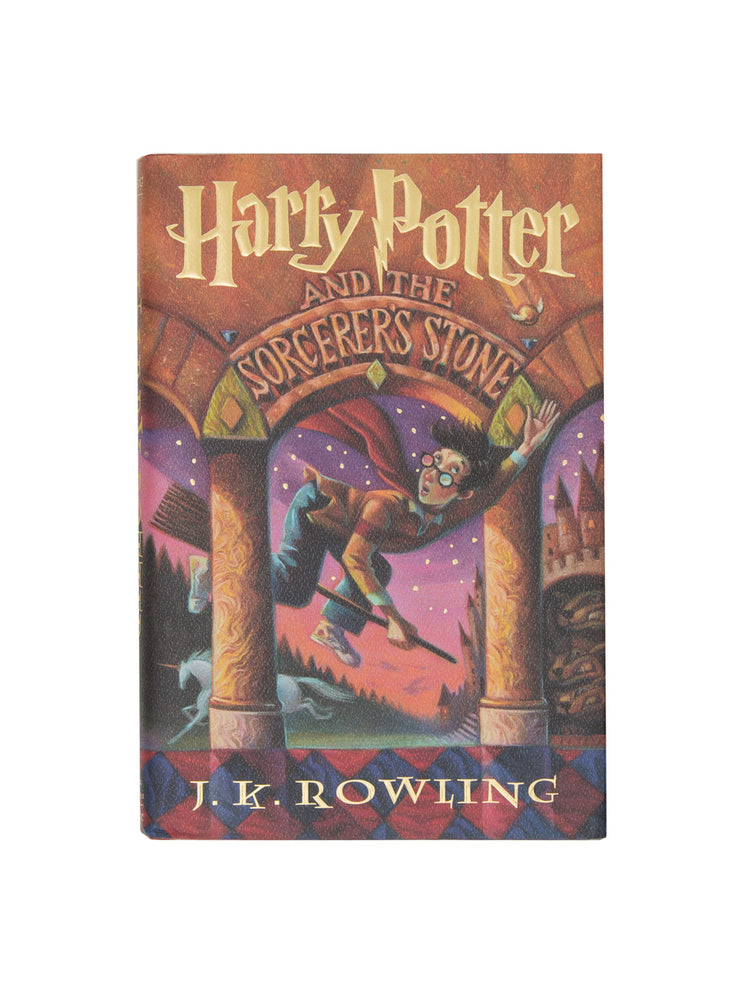 Harry Potter and the Sorcerer's Stone hardcover book