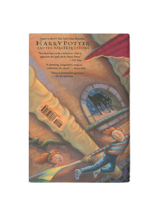 Harry Potter and the Chamber of Secrets hardcover book