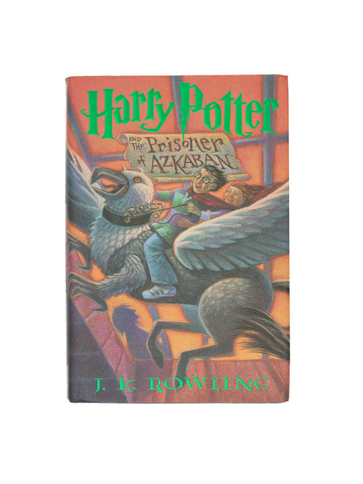 Harry Potter and the Prisoner of Azkaban hardcover book