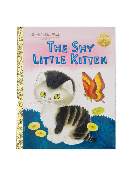 The Shy Little Kitten hardcover book
