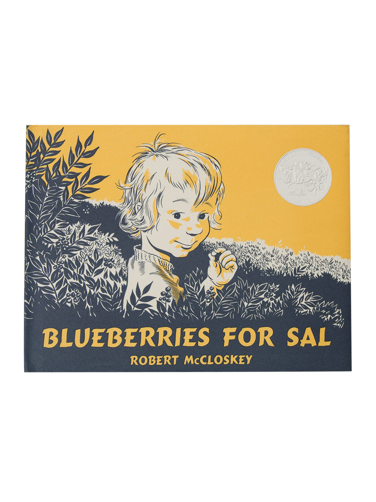 Blueberries For Sal Hardcover Book Out Of Print