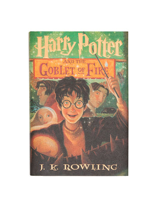 Harry Potter and the Goblet of Fire hardcover book