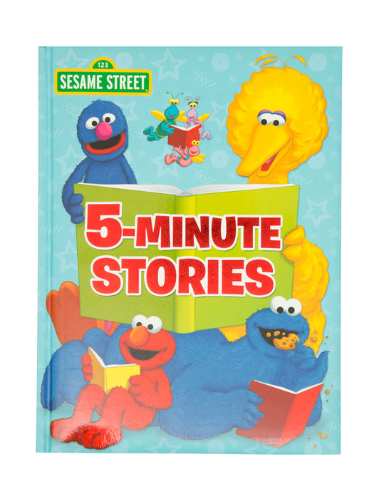 Sesame Street 5-Minute Stories hardcover book