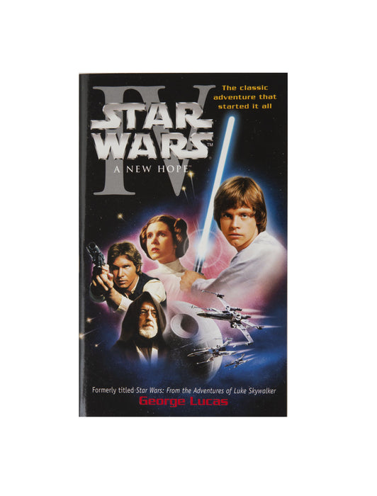 Star Wars - A New Hope paperback book