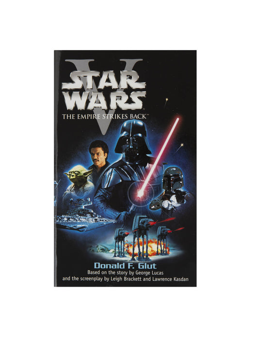 Star Wars - The Empire Strikes Back paperback book