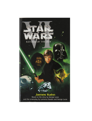 Star Wars - Return of the Jedi paperback book