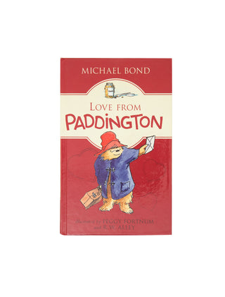 Love from Paddington hardcover book