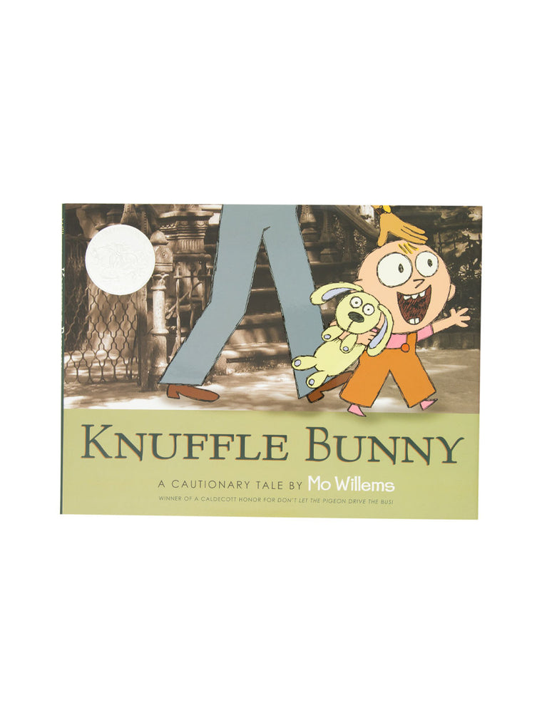 Knuffle Bunny: A Cautionary Tale hardcover book