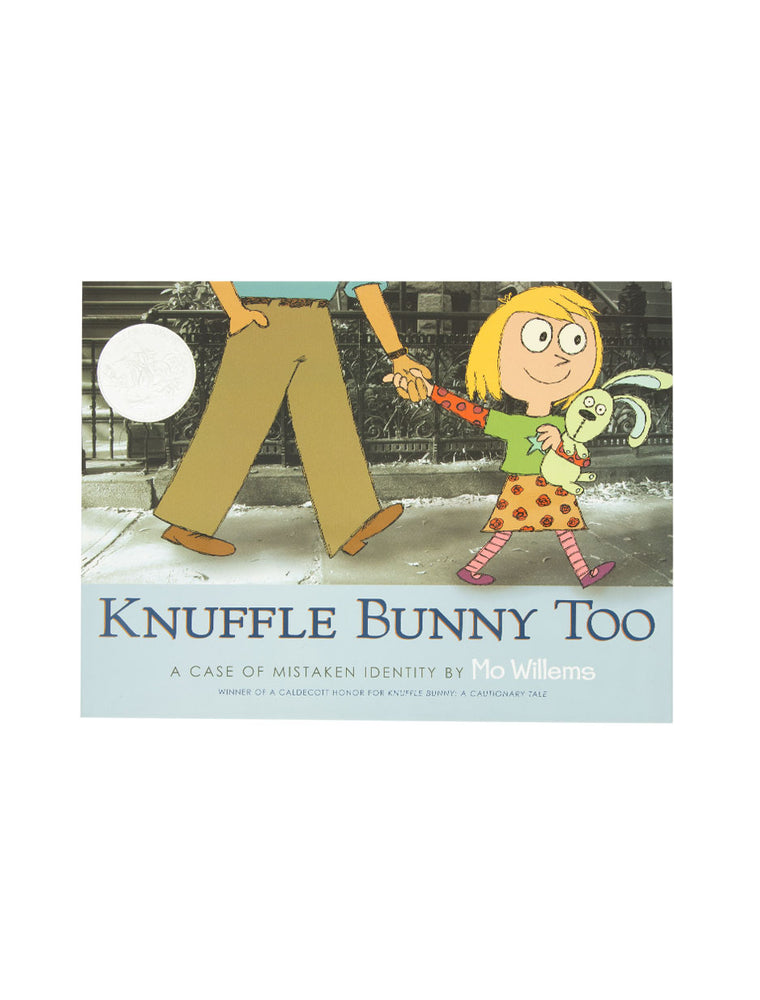 Knuffle Bunny Too: A Case of Mistaken Identity hardcover book