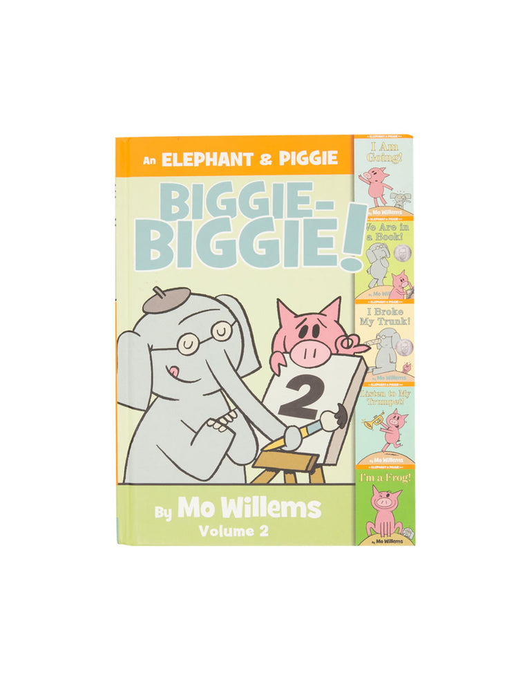 An Elephant & Piggie Biggie Volume 2! book