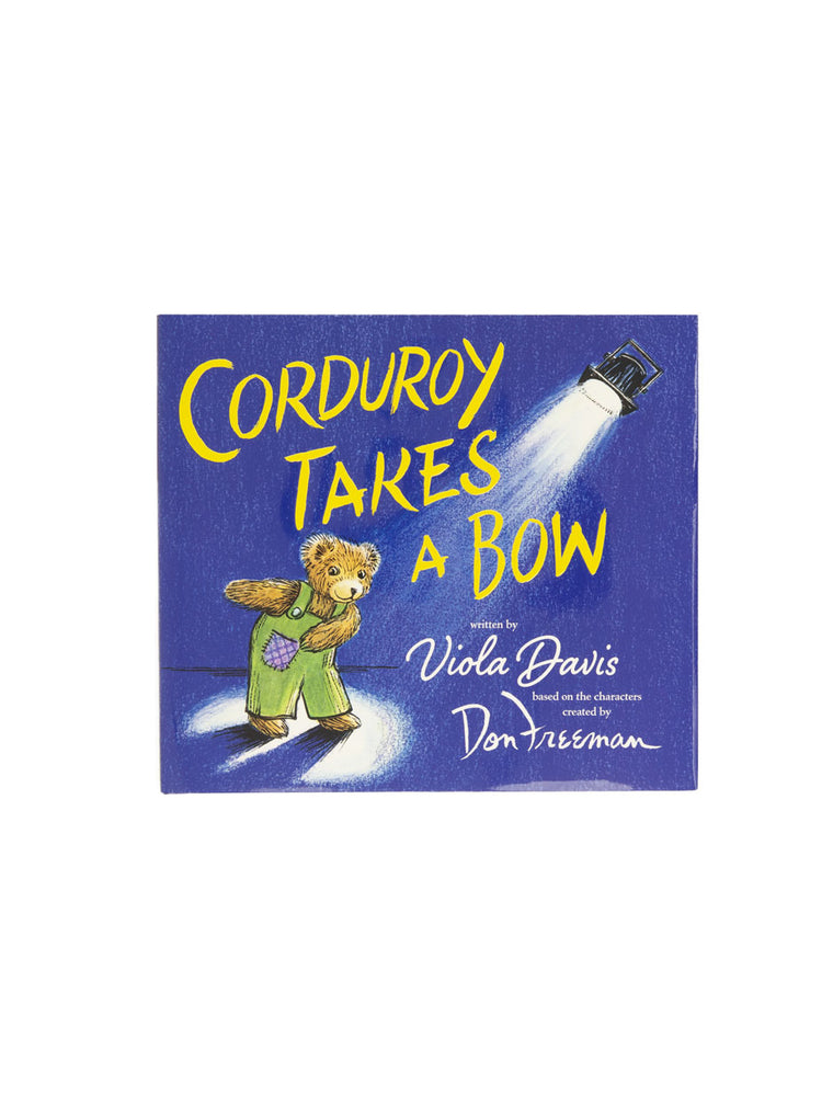 Corduroy Takes a Bow hardcover book