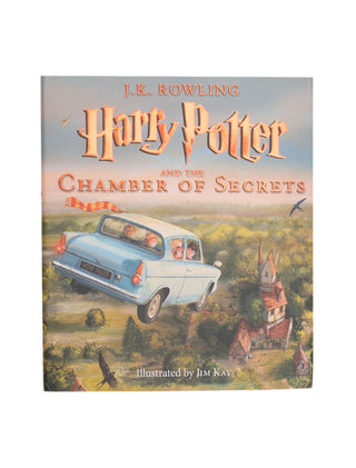 Harry Potter and the Chamber of Secrets: The Illustrated Edition book