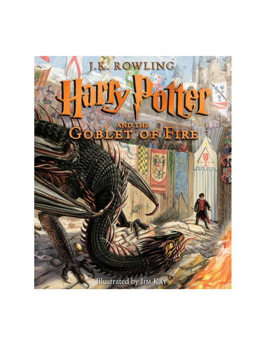 Harry Potter and the Goblet of Fire: The Illustrated Edition book