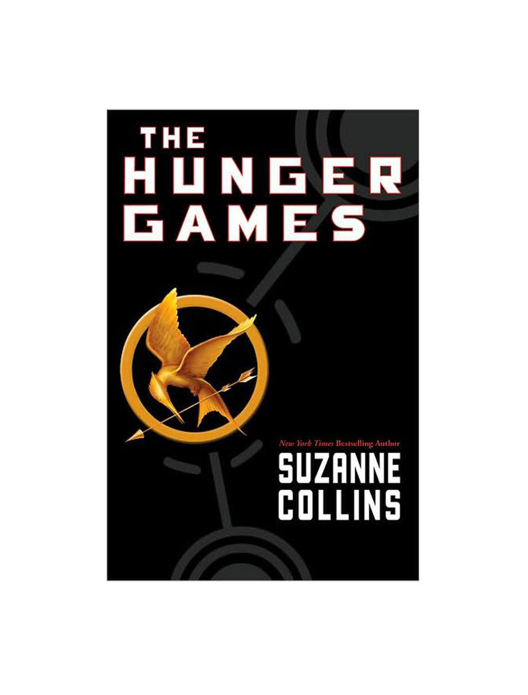 The Hunger Games hardcover book