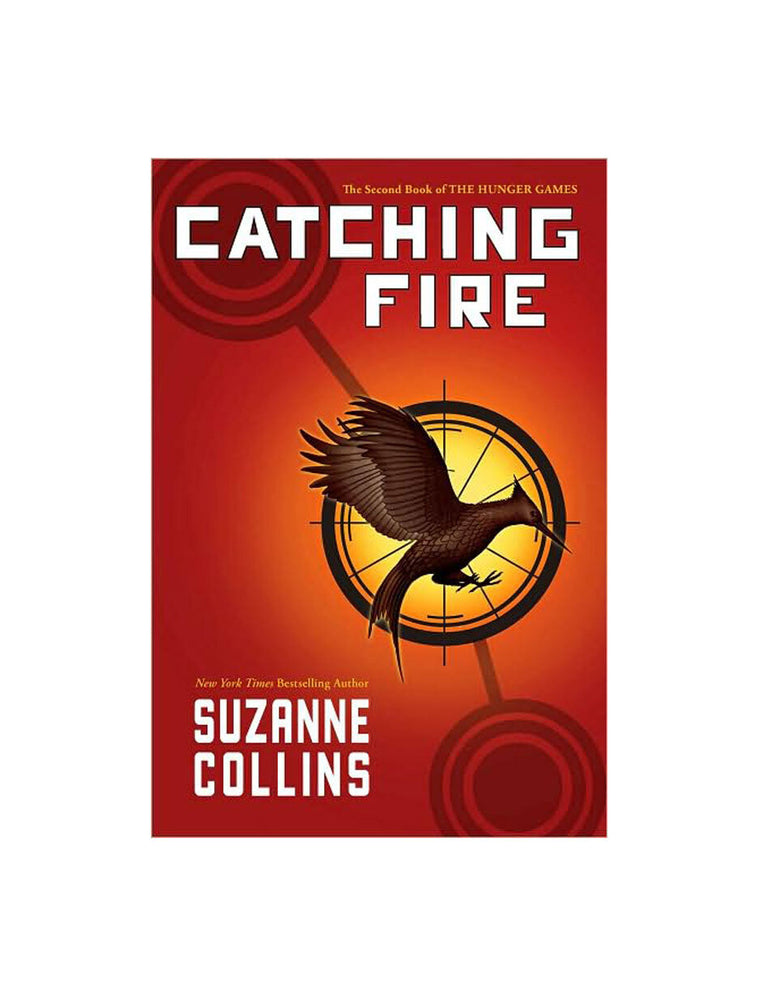 Catching Fire hardcover book