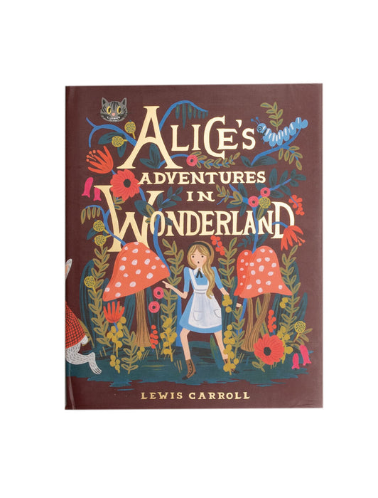 Alice's Adventures in Wonderland hardcover book