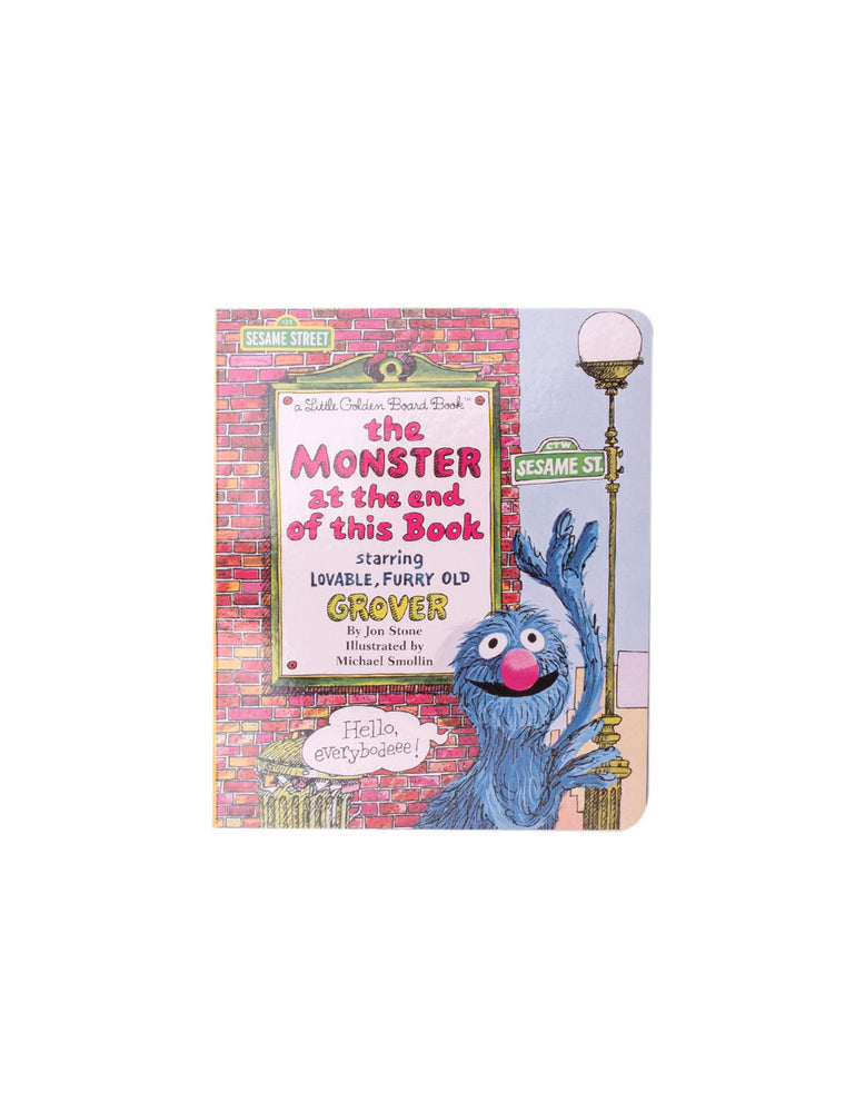 The Monster at the End of this Book (Sesame Street) hardcover book
