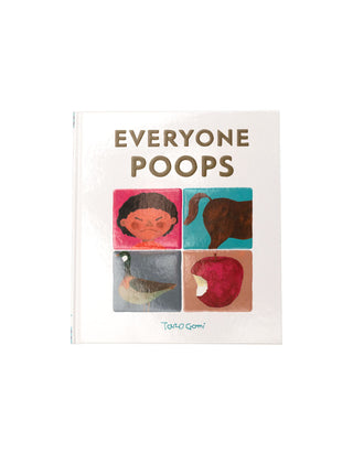 Everyone Poops hardcover book