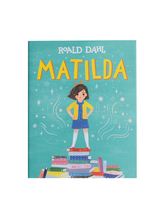 Matilda book (illustrated by Sarah Walsh)