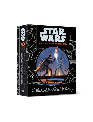 Star Wars: The Complete Skywalker Saga: Little Golden Books