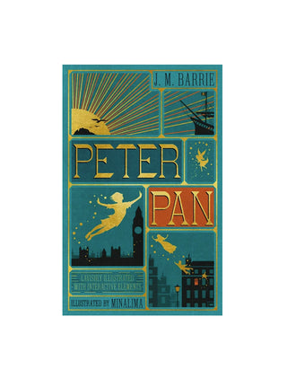 Peter Pan (MinaLima) hardcover book