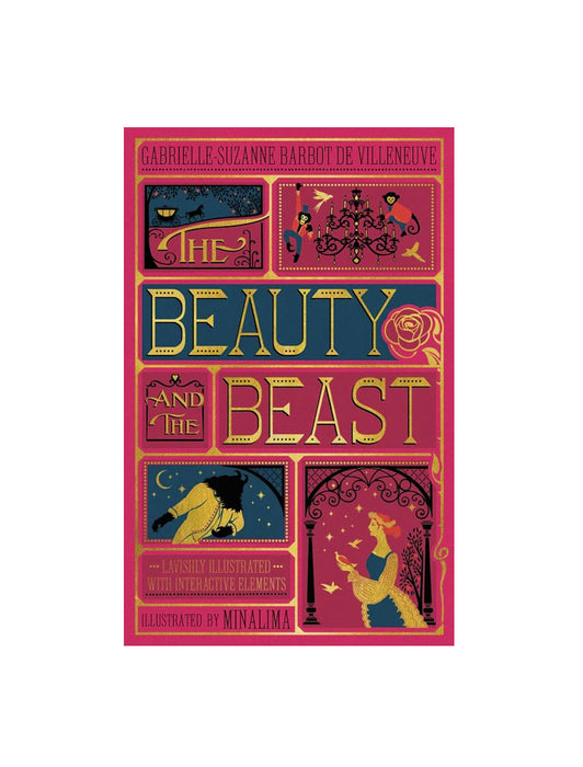 The Beauty and the Beast (MinaLima) hardcover book