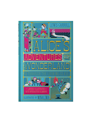 Alice's Adventures in Wonderland (MinaLima) hardcover book