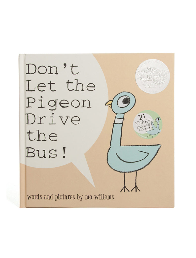 Don't Let the Pigeon Drive the Bus hardcover book