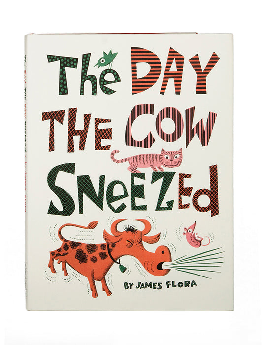 The Day the Cow Sneezed hardcover book