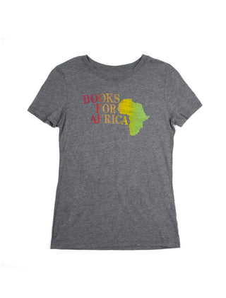 Books For Africa Women's T-Shirt