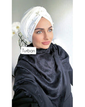 Load image into Gallery viewer, PEARL SELF-MADE TURBAN