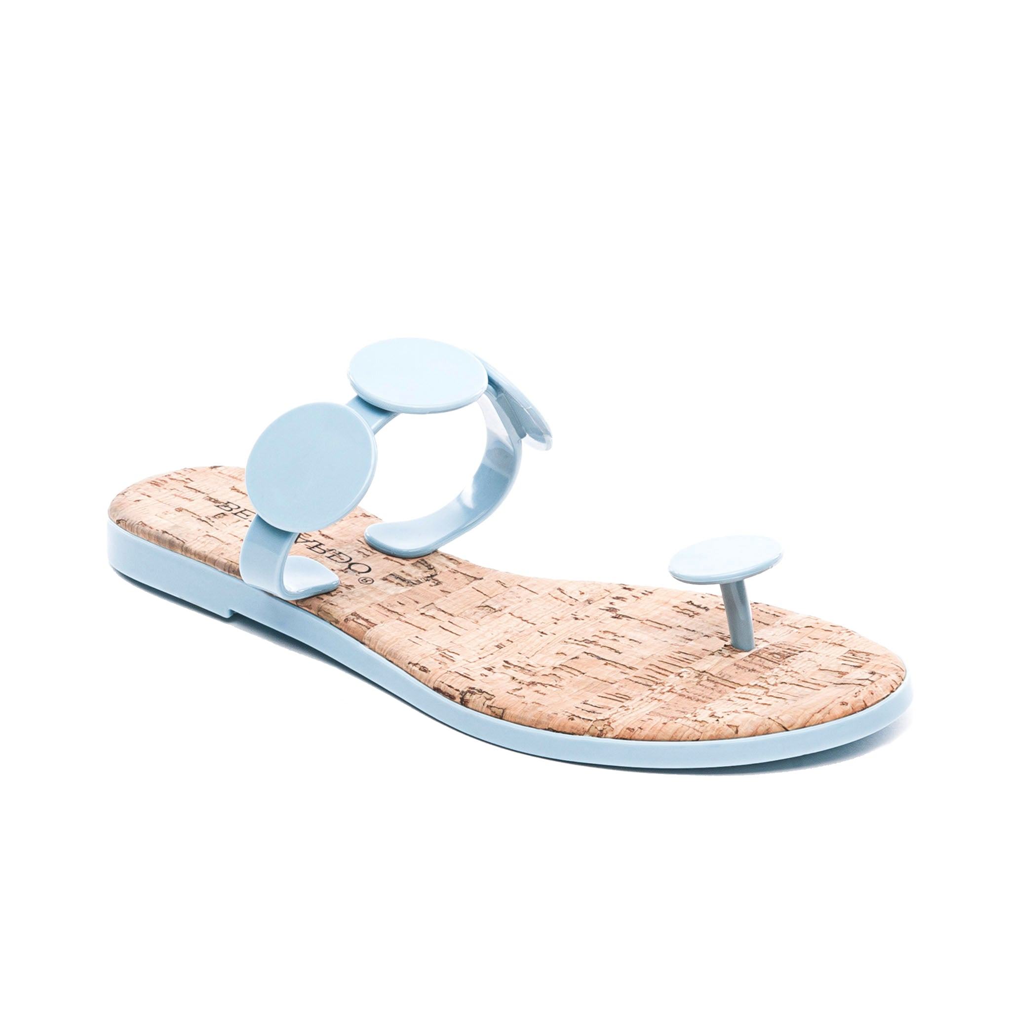 e46bc4e944 New Moon Jelly Flip Flop Sandal in New Ocean Blue Rubber – Bernardo 1946