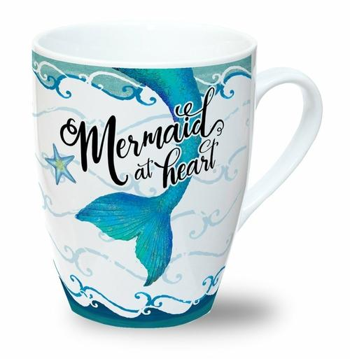 Mermaid at Heart: Mug Mermaid at Heart - Jade & Harlow