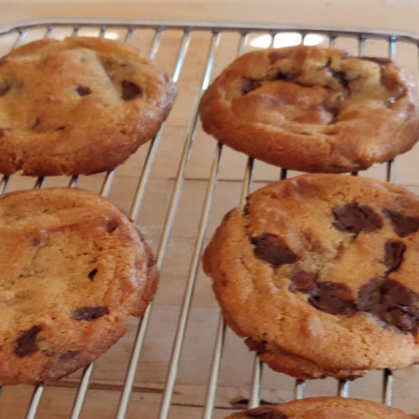 Brown Butter and Choc Chip Cookies (4)